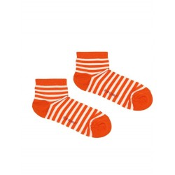 SAILOR ORANGE ANKLE-SOCK