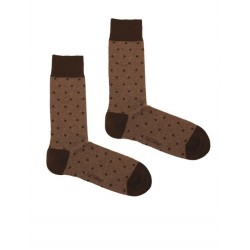 DOTS MELANGE MARRON