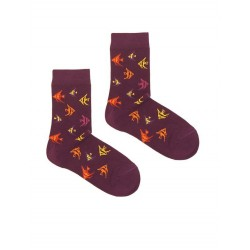 PURPLE FISH SOCK