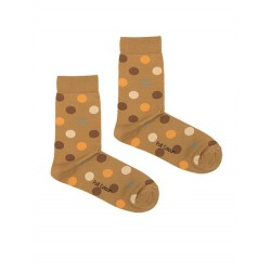 DOTS CREAM SOCK