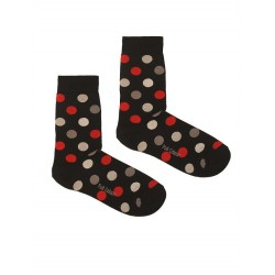 DOTS BLACK SOCK