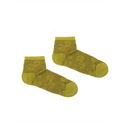 BEGOÑA GREEN ANKLE-SOCK
