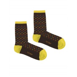 NET  BROWN SOCK