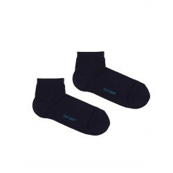 SOLID NAVY BLUE ANKLE-SOCK