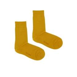 SOLID MUSTARD SOCK