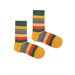 STRIPES SOCK GREEN