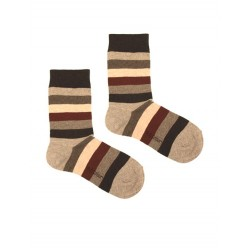 STRIPES SOCK BLACK