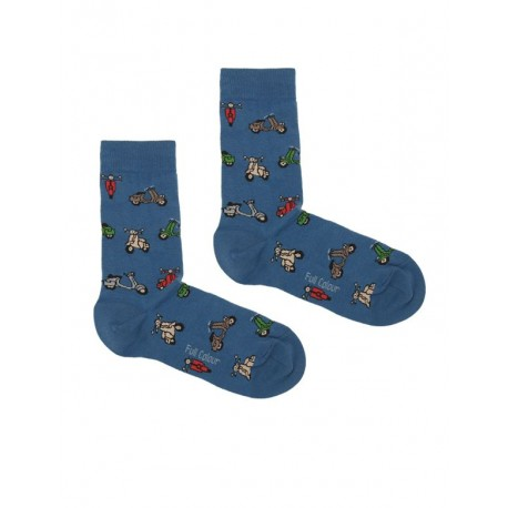SCOOTER SOCK BLUE