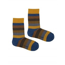 STRIPES SOCK MUSTARD