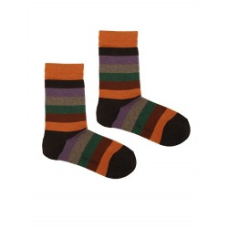 STRIPES SOCK ORANGE