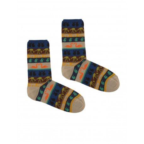 JUNGLE CENERE SOCKS