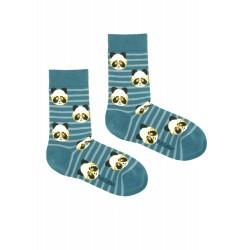 PANDA BLUE SOCKS