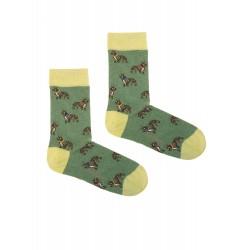 GREEN BULLDOG SOCKS
